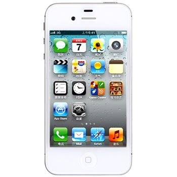 苹果(APPLE)iPhone 4S 16G版 3G手机(白色)